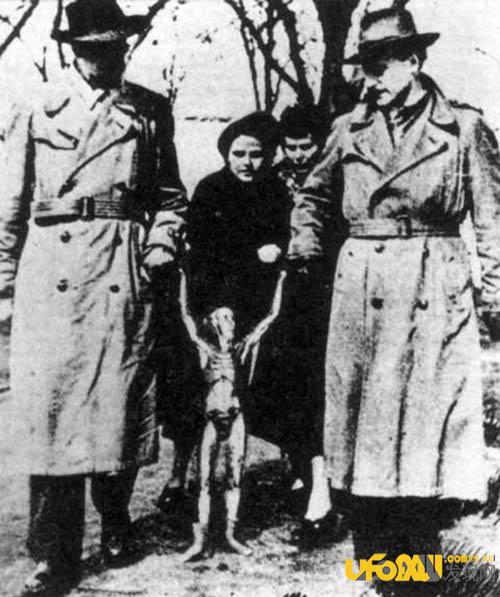 克格勃档案曝光:苏联曾抓获外星人