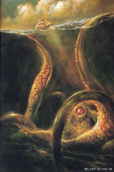 海怪未解之谜:挪威海怪Kraken