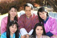 不丹王室婚姻:不丹哪位国王娶了四位同胞姐妹