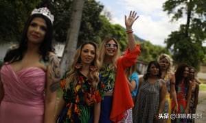 """""""最美狱花"""":巴西女子监狱举行女犯人选美大赛(组图)"""