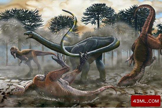 史上最大的恐龙,阿根廷龙长40米重达100吨(一天长80斤)