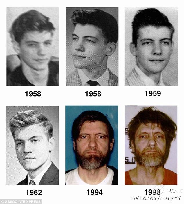 卡钦斯基不同时期的照片