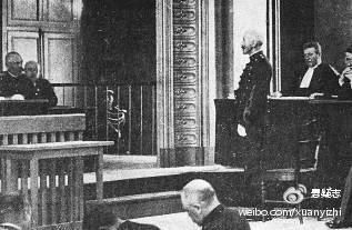 1899年,法国雷恩法庭审判德雷福斯