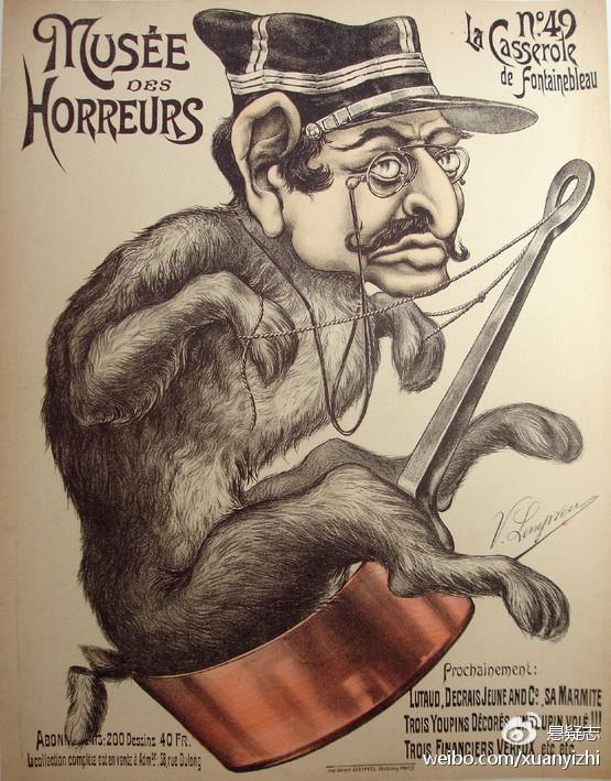 丑化德雷福斯的海报