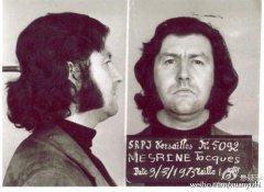 法国公敌雅克・梅林是法国当代最名声昭著的逃犯