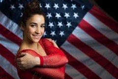 美国女子体操运动员亚历山德拉・莱斯曼(Aly Raisman)被性侵