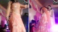 印度女舞者婚礼上被枪击 下巴中弹(视频)