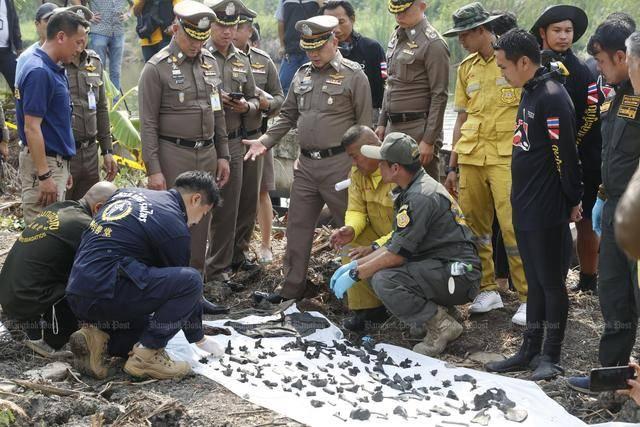 细思极恐!泰国男子残杀小18岁女友,警方水底找出288块人骨