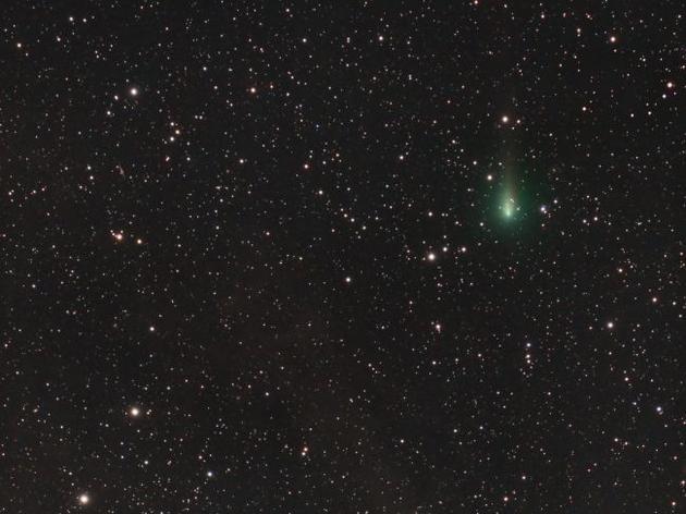 4月10日,天体摄影师拍摄到Atlas彗星。
