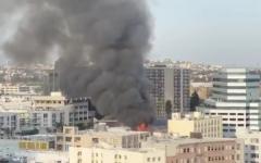 洛杉矶市中心发生爆炸,导致多处建筑物起火,多名救援消防员受伤