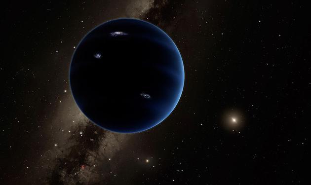 第九行星是外太阳系神秘物质可能的存在形式之一
