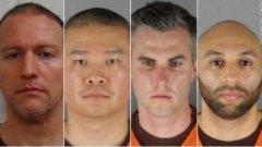 弗洛伊德案中的亚裔警察 美国弗洛伊德案另三个警察照片
