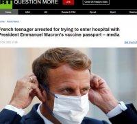 法国一男子因用马克龙健康码被捕!